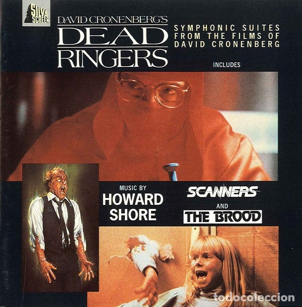 DEAD RINGERS + SCANNERS + THE BROOD / HOWARD SHORE CD BSO (Música - CD's Bandas Sonoras)