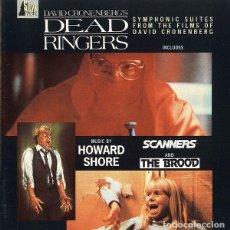 CDs de Música: DEAD RINGERS + SCANNERS + THE BROOD / HOWARD SHORE CD BSO. Lote 177519657