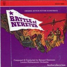 CDs de Música: BATTLE OF NERETVA / BERNARD HERRMANN CD BSO . Lote 177520137