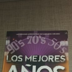 CDs de Música: CD'S LOS MEJORES AÑOS DE NUESTRA VIDA CANCIONES IMPRESCINDIBLES QUE MARCARON 5 DECADAS FORMATO LIBRO. Lote 177526875