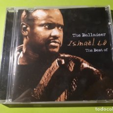 CDs de Música: ISMAEL LO - THE BALLADER - THE BEST OF - 2001 - COMPRA MÍNIMA 3 EUROS. Lote 177527710