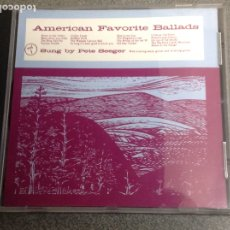 CDs de Música: AMERICAN FAVORITE BALLADS SUNG BY PETE SEEGER. EDICIÓN DE FOLKWAYS. Lote 177528489