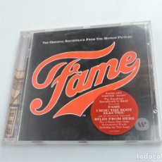 CDs de Música: VARIOUS  FAME THE ORIGINAL SOUNDTRACK FROM THE MOTION PICTURE CD. Lote 177548180