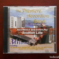 CDs de Música: CD THE PREMIERE ACCORDION BAND - SCOTTISH LILTS (AY). Lote 177551190