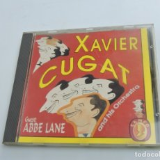 CDs de Música: XAVIER CUGAT AND HIS ORCHESTRA GUEST ABBE LANE CD. Lote 177563042