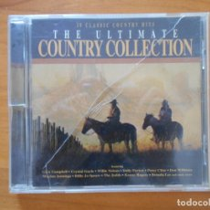 CDs de Música: CD THE ULTIMATE COUNTRY COLLECTION - GLEN CAMPBELL, CRYSTAL GAYLE, WILLIE NELSON... (CZ). Lote 177563187