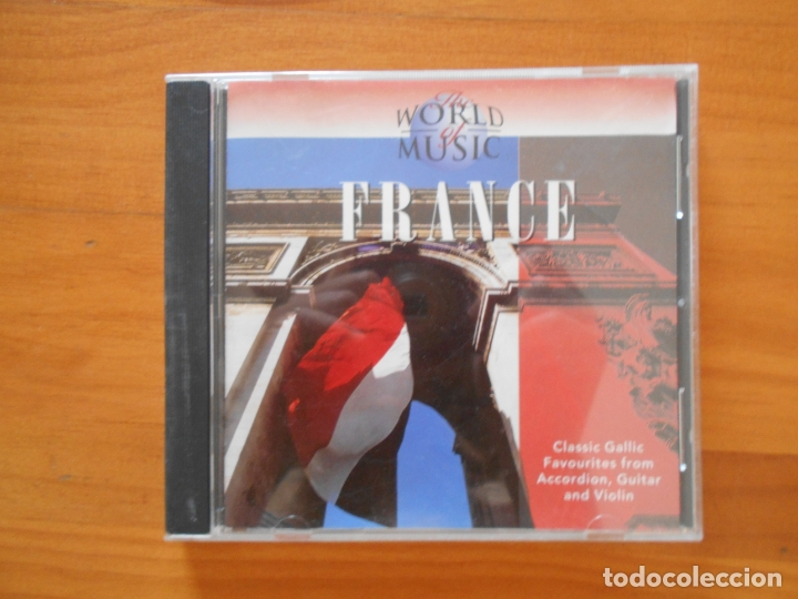 CD THE WORLD OF MUSIC - FRANCE (DB) (Música - CD's World Music)
