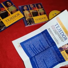 CDs de Música: TEJEDOR LLUNATICOS CD 2003 ARIS ASTURIAS FOLK + HOJA PROMO. Lote 177567622