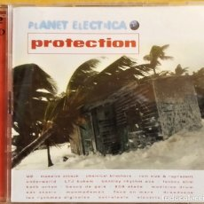 CDs de Música: CD DOBLE, PLANET ELECTRICA - PROTECTION, RECOPILACIÓN, VIRGIN– 8471952 ,MUY BUEN ESTADO(VG+_VG+). Lote 177575554