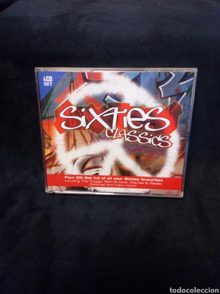 SIXTIES CLASSICS 4 CDS (Música - CD's Otros Estilos)