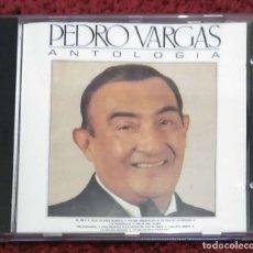 CDs de Música: PEDRO VARGAS (ANTOLOGÍA) CD 1990. Lote 177603030