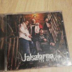 CDs de Música: FALSALARMA / CD / LEY DE VIDA / RAP / COMO NUEVO. Lote 177618220