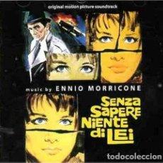 CDs de Música: SENZA SAPERE NIENTE DI LEI / ENNIO MORRICONE CD BSO - DIGITMOVIES. Lote 177619850