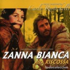 CDs de Música: ZANNA BIANCA ALLA RISCOSSA + IN NOME DEL POPOLO ITALIANO / CARLO RUSTICHELLI CD BSO. Lote 177620578
