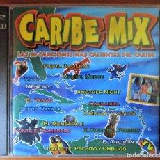 CDs de Música: CARIBE MIX - FIESTA CALIENTE, MARIA, MENÉALO, MUEVE, MUEVE, A MOVER LA COLITA, EL MENEAITO. 2 CD. Lote 177623468