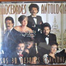 CDs de Música: MOCEDADES - ANTOLOGIA - SUS 30 GRANDES CANCIONES - 2 CD. Lote 177623562
