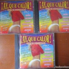 CDs de Música: ¡AY QUE CALOR! (VER CONTENIDO EN FOTOS) 3 CD. Lote 177623580