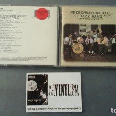 CDs de Música: PRESERVATION HALL JAZZ BAND ?– NEW ORLEANS • VOL. IV CD CBS ?– MK 44856 . Lote 177630733