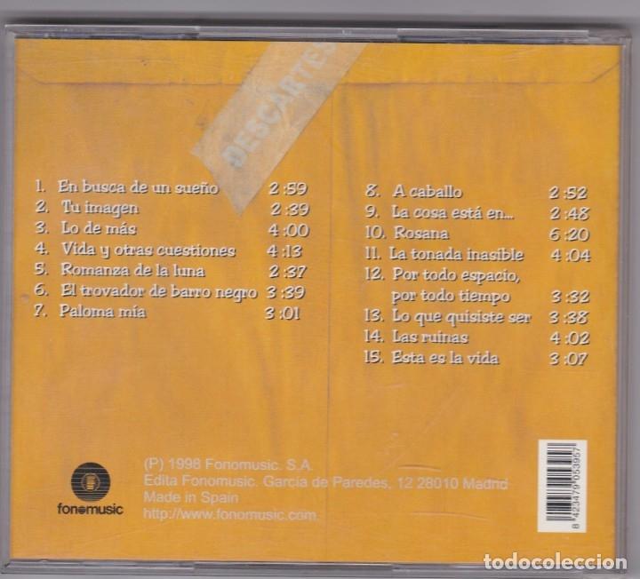 CDs de Música: Silvio Rodríguez Dominguez - Descartes - CD - Foto 2 - 177634277