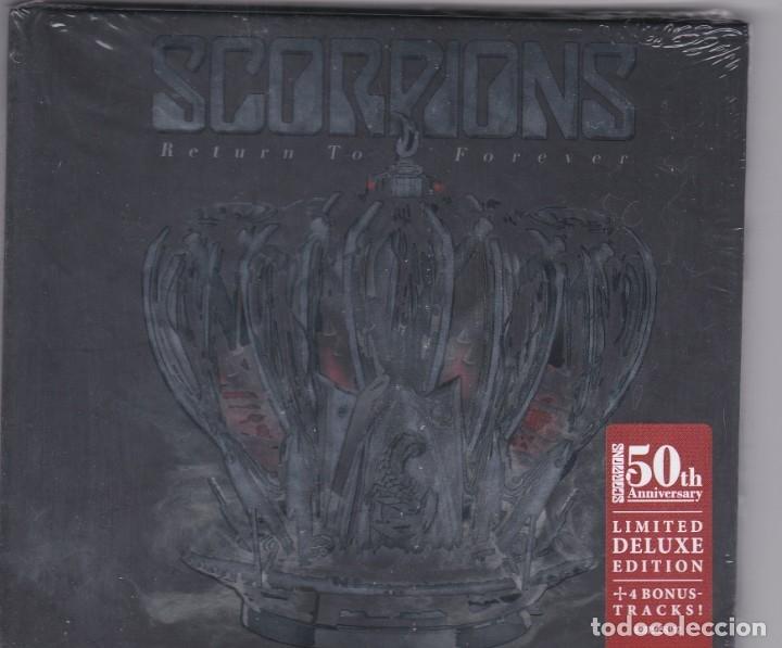 SCORPIONS - RETURN TO FOREVER - CD BOOK PRECINTADO (Música - CD's Heavy Metal)