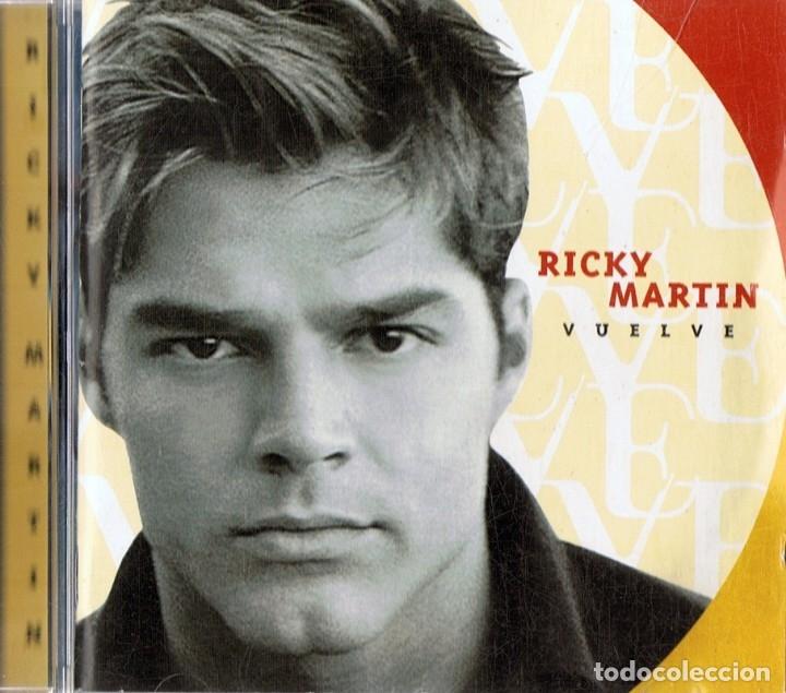 RICKY MARTIN ¨VUELVE¨ (CD) (Música - CD's Latina)