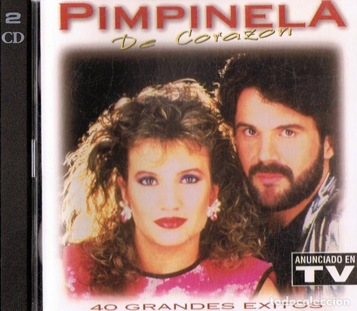 PIMPINELA DE CORAZÓN ( 2 CD) (Música - CD's Melódica )