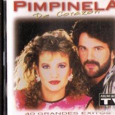 CDs de Música: PIMPINELA DE CORAZÓN ( 2 CD). Lote 177656830