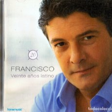CDs de Música: FRANCISCO VEINTE AÑOS LATINO ( 2 CD´S). Lote 177657449