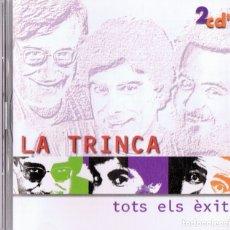CDs de Música: LA TRINCA TOTS ELS ÉXITS ( 2 CD). Lote 177660208