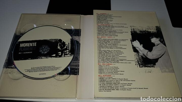 CDs de Música: Morente flamenco recopilatorio 5 cds - Foto 2 - 177666664