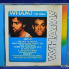CDs de Música: WHAM - THE FINAL - CD. Lote 177669499