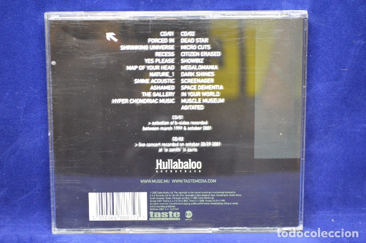 CDs de Música: MUSE - HULLABALOO - SOUNDTRACK - 2 CD - Foto 2 - 177671367