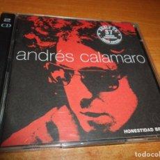 CDs de Música: ANDRES CALAMARO HONESTIDAD BRUTAL DOBLE CD 1999 LOS RODRIGUEZ CONTIENE 37 TEMAS. Lote 177674283