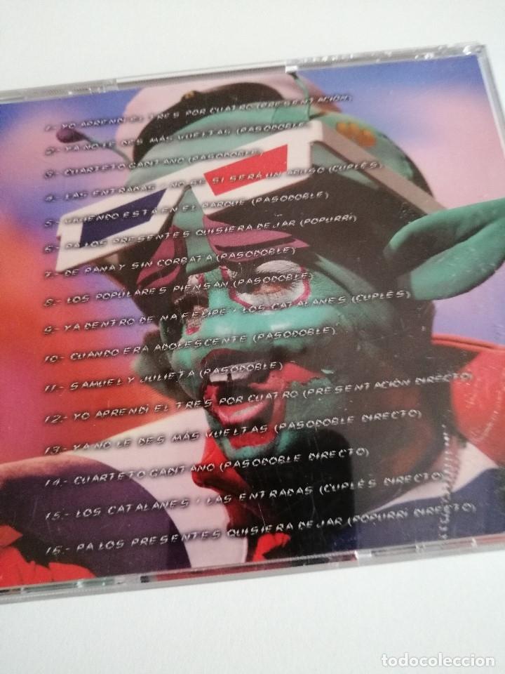 CDs de Música: G-CERCES2 CD MUSICA CARNAVAL DE CADIZ cd comparsa lo siento pisha no todo el mundo puede ser de cai - Foto 2 - 177680589