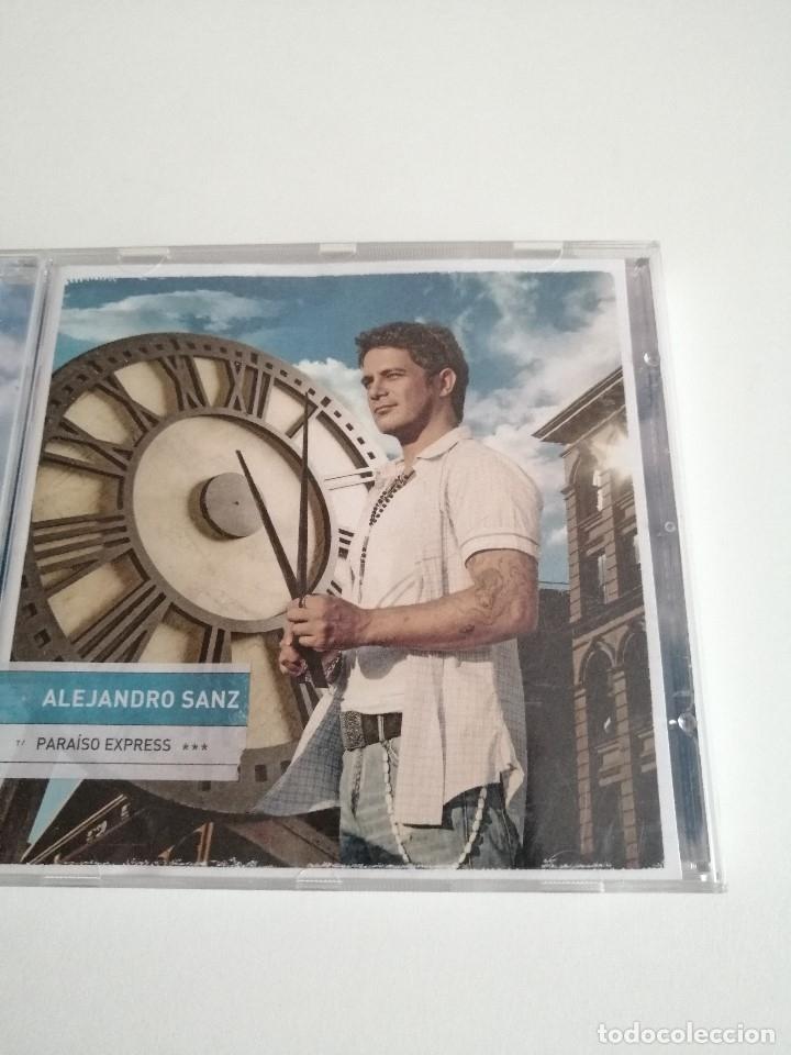 G-CERCES2 CD MUSICA CD ALEJANDRO SANZ PARAISO EXPRESS (Música - CD's Otros Estilos)