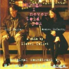 CDs de Música: THINGS I NEVER TOLD YOU / ALFONSO VILALLONGA CD BSO. Lote 177687678