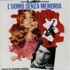 CDs de Música: L´UOMO SENZA MEMORIA / GIANNI FERRIO CD BSO - DIGITMOVIES. Lote 177689604