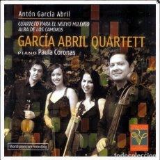 CDs de Música: NUEVO MILENIO + ALBA DE LOS CAMINOS / ANTÓN GARCÍA ABRIL CD. Lote 35849210