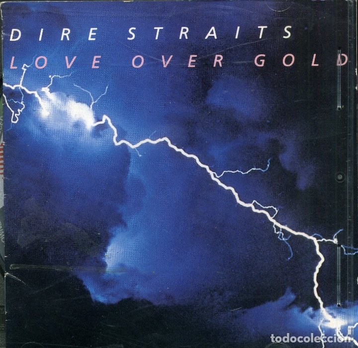 DIRE STRAITS - LOVE OVER GOLD (Música - CD's Disco y Dance)