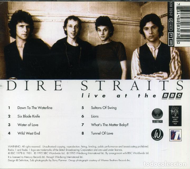 CDs de Música: DIRE STRAITS - LIVE AT THE BBC - Foto 2 - 177706900