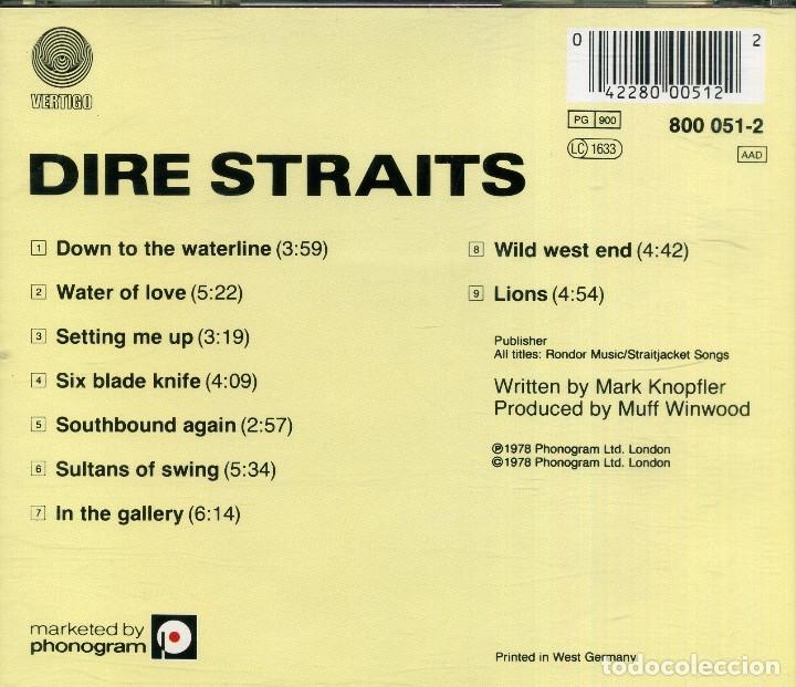 CDs de Música: DIRE STRAITS - Foto 2 - 177707029