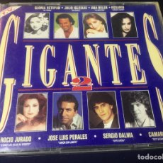 CDs de Música: DOBLE CD / GIGANTES 2 .. Lote 177711144