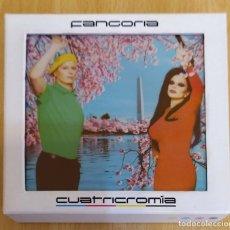 CDs de Música: FANGORIA (CUATRICROMIA) BOX 4 CD'S 2013 - ALASKA. Lote 177727828