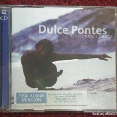 CDs de Música: DULCE PONTES (O PRIMEIRO CANTO) CD + CD BONUS 2000 * VER FOTOS. Lote 177736238