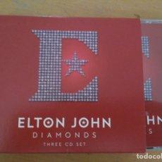 CDs de Música: ELTON JOHN DIAMONDS THREE CD SET 3XCDS CAJA. Lote 177750795