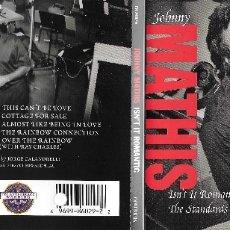 CDs de Música: JOHNNY MATHIS - ISN'T IT ROMANTIC: THE STANDARS ALBUM. Lote 177752948