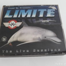 CDs de Música: LIMITE -THE LIVE SESSIONS- VOL.III. 3 CD'S - CHUMI DJ. Lote 177758317