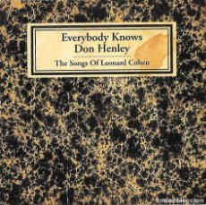 CDs de Musique: DON HENLEY (EAGLES): EVERYBODY KNOWS (TRIBUTO A LEONARD COHEN). CD SINGLE PROMOCIONAL. Lote 177775918