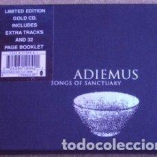 CDs de Música: ADIEMUS- KARL JENKINS - SONGS OF SANCTUARY (CD) 1995 - 11 TEMAS - ED. LIMITADA, GOLD CD. Lote 195268023