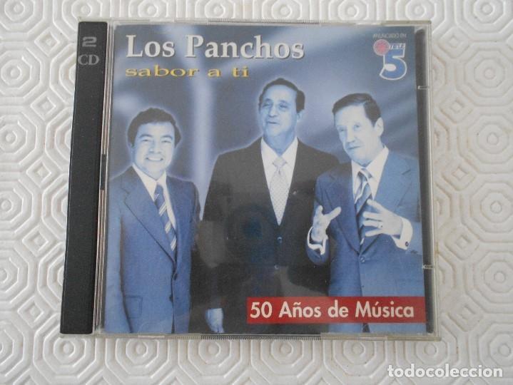 LOS PANCHOS. SABOR A TI. 50 AÑOS DE MUSICA. DOBLE COMPACTO CON 50 CANCIONES. CBS/SONY. (Música - CD's Latina)